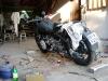 Przegląd motocykla przed wyjazdem.