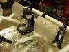 Zaprojektowałem i wyciąłem laserem nowe elementy adaptory pompy co pozwoliło zastosować nową pompę hamulcową od quada..