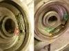 Właściciel sygnalizował problemy z napędem prędkościomierza. Problem wynikał z braku tulei dystansowej - ślimak napędu uciekał od linki prędkościomierza. Wytoczyłem nową tuleję, do tego nowy filc uszczelniający i oczywiście mycie całości.