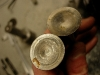 Stan popychaczy zaworowych - do wymiany. Na foto tego nie widać ale grzybki mają menisk wklęsły 1,2mm.