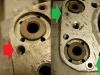 2 z 4 otworów osłon popychaczy ma uszkodzone gwinty. Naprawa poprzez wklejenie podwójnie gwintowanej reperaturki M10/M6.