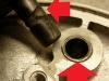 Oś-tuleja dźwigni hamulca wymaga naprawy. Ma bardzo duże luzy i nie jest to wynikiem stricte zużycia a ruskiego brakoróbstwa. Oś ma wymiar 11,9 a otwór 12,3mm. 4 dziesiąte luzu!