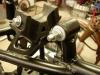 Zawieszenie siedzisk przerobione na tuleje z ertalonu wraz ze sworzniami.