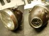 Lampa przednia złożona z umytych i zakonserwowanych elementów.