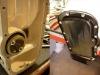 Nowa siatka, nowe śruby, dorobiona uszczelka - można montować pompę. I zaraz za nią - misę.