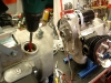 Silnik został zalany olejem i sprawdziłem działanie pompy oleju. Potem montaż ostateczny prądnicy i ostateczna regulacja zapłonu...