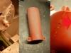 Obróbka detali przed lakierowaniem i prace spawalnicze. Portki przedniego zawieszenia wymagają wymiany fragmentu blachy...