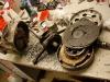 Elementy silnika otrzymałem luzem w kartonach. Część elementów jest nowa, część używana. Braki w detalach. Puzzle.