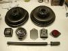 Niektóre elementy lakieruję emalią poliuretanową Novol for Classic Cars.