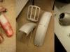 Po spasowaniu czas na szpachlowanie, szlify, gruntowanie miejsc przetartych i podkład ostateczny. Lampa tylna była polakierowana sprajem więc ją wypiaskowałem i dałem porządny lakier poliuretanowy.