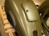 Wykończeniówka i lakierowanie zbiornika. Następnie montaż i dystansowanie kranika, montaż gum, klapki, zawiasów i zamka.