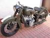 I właściwie motocykl gotowy. Brakuje jeszcze sprężyny centralnej podstawki i przewodów paliwowych.