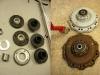 Standardowe tuleje dystansowe 20mm okazały się za krótkie. Trzeba wykonać tuleje o długości 22,5mm. Następnie nowe filce i różne inne doróbki do wnętrza piast. Nowe łożyska  - i gotowe.
