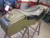 I początek II etapu. Rozbiórka wózka bocznego.