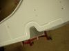 Następnie podkład akrylowy, grubiej. Potem szlif i uszczelnienie elastyczną masą poliuretanową.