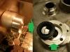 I kolejne - z buca aluminium trzeba wykonać nową tylną podporę kopniaka z odpowiednim gniazdem pod współczesny simmering a nie tzw.placek.
