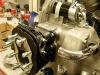 Głowice podspawane, podpiaskowane, wymyte. Cylindry założone i wyregulowane zawory. Można kończyć silnik.