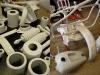 A następnie podkładem akrylowym. Następnie szpachlowanie, zarówno blach jak i ramy i elementów drobnych - różne obicia, wgnioty, wżery itd.