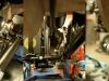 Na bazie oryginalnego cięgna hamulca trzeba było dorobić wszystkie potrzebne detale tego mechanizmu -  sworznie, sprężyny, podkładki oporowe...