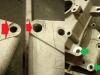 Porozbijane otwory montażowe silnika. Zostało to naprawione poprzez rozwiercenie, dotoczenie tulei naprawczych ze stali nierdzewnej i wprasowanie w/w w korpus.