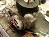 Regulacja zapłonu i naniesienie znaków GMP i 3mm przed GMP na kole i korpusie. To umożliwi późniejsze sprawdzenie punktu zapłonu lampą stroboskopową.