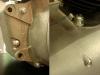 Silnik udało się złożyć na oryginalnych, ponaprawianych śrubach.
