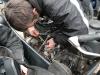 ...w BMW przyciera się jeden cylinder, trzeba wzbogacić mieszankę....