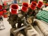 Na bazie starego wykonałem nowy napęd przepustnic gaźników, z osłoną termiczną linki