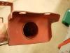 Tu także były imbusy z małym średnicowo łbem i małą, standardową podkładką. I tak wyglądają uszy belki podsilnikowej. W tych miejscach mają być M10 z pełnowymiarowym łbem i powiększonymi podkładkami.