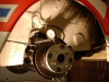 Pomiar wykazał bicie dystansu ponad 1mm względem piasty...