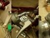 Walka z linkami. przednia linka była za krótka o 8 cm - mimo że do SHL. Zastosowałem skróconą linkę od M72. Linka gazu za długa o 3cm, wymagała skracania. Mimo nasmarowania linki hamulca-  klamka nie odbija - trzeba było zastosować dodatkową sprężynę. Wszystko przez prototypowe i nieprzemyślane wykonanie zarówno mocowania klamki jak i słabych sprężyn przy szczękach hamulcowych.