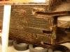 Z całego podwozia usunięta została warstwa biteksu przed piaskowaniem.