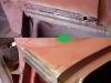 Rekonstrukcja boków przedniego podszybia - typowe miejsce korozji w S100 niestety.