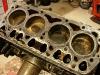 Silnik był eksploatowany na nienajgorszym oleju i wnętrze jest dość czyste. Na tulejach lekko wyczuwalny próg.