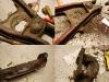 Nim elementy trafią do piaskowania należy je wstępnie oczyścić z grubego brudu i smaru.
