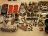 Elementy przejrzane, wstępnie oczyszczone, co trzeba naprawione lub pospawane - czas na piaskowanie.