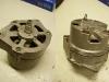 Alternator po renowacji. Mycie, nowe łożyska Koyo z luzem C3, przetoczenie komutatora. Szczotki pozostały stare bo były b.mało zużyte.