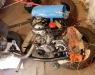 Silnik został uruchomiony na zaaranżowanym stanowisku. Przepracował ok 30 min, został wstępnie wyregulowany. Pracuje bardzo dobrze, brak jakichkolwiek wycieków lub niepokojących odgłosów.