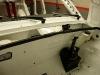 ... i montaż różnych innych elementów. Wszystko montowane na nowe śruby, każdy otwór przed montażem pokryty woskiem - aby nie zaczynała się stamtąd korozja.