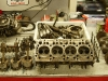 Silnik rozebrany, umyty i gotowy do oględzin szczegółowych oraz pomiarów.