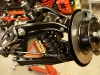 Zawieszenie przednie gotowe   /   Front suspension is ready, after a total reconstruction.
