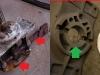 ... następnie kasowanie luzu na kuli poprzez stoczenie przylgni...     /    Repair stages with gearshift lever
