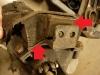 Poduszka skrzyni biegów jest do wymiany.   /   The transmission cushion is for replacement.