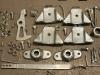 Elementy tylnego zawieszenia i detale wnętrza po cynkowaniu    /    Rear suspension components and interior detail after galvanizing