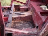 Zdejmowanie mas bitumicznych przed piaskowaniem   /   Removal of bituminous masses before sandblasting