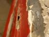 Rynienka też jest w słabym stanie.  /  The chute in a bad condition.