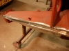 Odbudowany cały prawy rant podłuznicy   /   Rebuilt whole right wheel arch