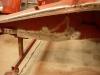 Odbudowane zewnętrzne poszycie podłużnicy  /    Rebuilt outer surface