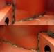 Dodatkowe spawy które usztywnią karoserię, przód nadwozia   /   Additional welding that will strengthen and stiffen the car body, front