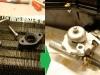Dorobiłem brakujące elementy więc można było zainstalować zawór   /  I made the missing parts so  I could install the valve